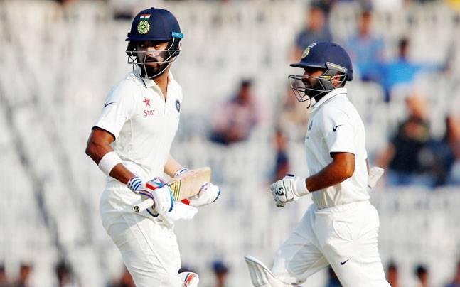 Chennai Test, Day 2, India, England, Liam Dawson, Adil Rashid, Moeen Ali, Ravindra Jadeja, Parthiv Patel, Lokesh Rahul