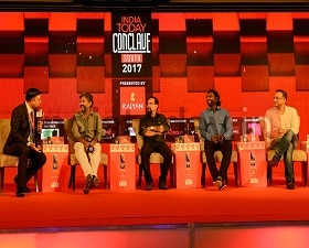 India Today Conclave South 2017: SS Rajamouli, Shobu, Sabu Cyril and Senthil on Baahubali