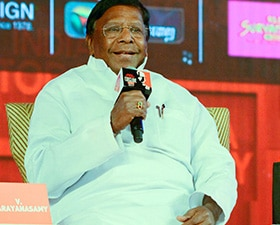 Puducherry CM V Narayanasamy at India Today Conclave South: Demonetisation step in right direction but without preparation