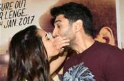 Aditya Roy Kapur and Shraddha Kapoor are busy these days promoting their upcoming film OK Jaanu all day, all night long. The Aashiqui 2 actors were recently spotted at Filmistan Studio promoting their new film.