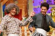 IN PICTURES: When TKSS team felt Raees in SRK's company
