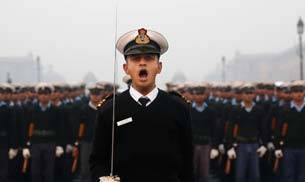 68th Republic Day parade rehearsal