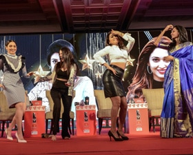 Tamannaah, Amyra Dastur, Shriya Saran and Manju Warrier on the India Today Conclave South 2017 stage