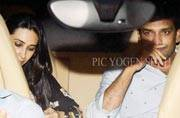After months of mud slinging and a messy divorce battle, Karisma Kapoor has found love once again in businessman Sandeep Toshniwal. After making their first public appearance a few weeks back, Sandeep was spotted at Randhir Kapoor's birthday bash.