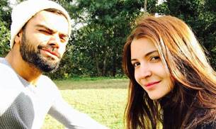 Love is in the air for cricketer Virat Kohli and his girlfriend Anushka Sharma.