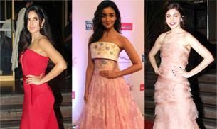 the best dressed, the worst dressed, Anushka Sharma, Katrina Kaif, Shahid Kapoor, Mira Rajput, Alia Bhatt, Hrithik Roshan, Amitabh Bachchan, Rekha, Disha Patani, Dimple Kapadia, Shamita Shetty, Elli Avrram, Shriya Saran