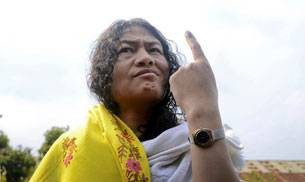 Indian activist Irom Sharmila