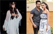 If Alia Bhatt and Varun Dhawan are busy promoting their upcoming film Badrinath Ki Dulhania, brother-sister duo Harshvardhan Kapoor and Sonam Kapoor returned to Mumbai after attending a family wedding.