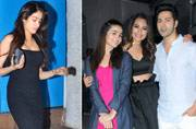 If Jhanvi Kapoor stepped out in style after her return from Abu Dhabi, star kids like Alia Bhatt, Varun Dhawan and Sonakshi Sinha had a reunion of sorts.