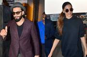 Ranveer Kapoor and Deepika Padukone for once were not seen together. While Ranveer was seen in Bandra, Deepika was clicked at Mumbai airport.