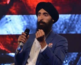 Model and designer Waris Ahluwalia talks about fear, hatred and racism at India Today Conclave 2017