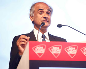 Author Pico Iyer at India Today Conclave 2017