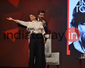 Shah Rukh Khan at the India Today Conclave 2017