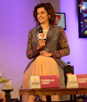 India Today Woman Summit 2017, Fight Like A Girl, Taapsee Pannu