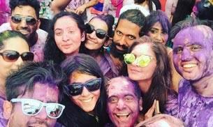 From Krystle D'souza, Karan Tacker, Ankita Lokhande, Rithvik Dhanjani, Asha Negi, Gurmeet Choudhary to Debina Bonnerjee, Ekta Kapoor's BCL Holi Invasion party witnessed loads of masti by our favourite TV stars. It was organised at Karamveer Sports Complex