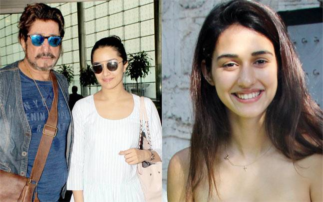 Shraddha Kapoor was seen with dad Shakti Kapoor at the airport. In other news, Disha Patani looked stylish as she was spotted outside an eatery in Mumbai.