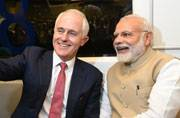 PM Modi and Malcolm Turnbull