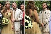 Sofia Hayat marries Romanian interior designer Vlad Stanescu in Egyptian ceremony; see pics