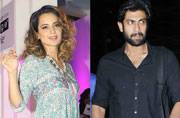 While Kangana Ranaut wowed one and all in a splendid dress at a recent event, Baahubali star Rana Daggubati was spotted at the Mumbai airport.