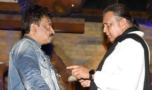 As filmmaker Ram Gopal Varma turned 55, his friends from B-Town joined him for his birthday bash.