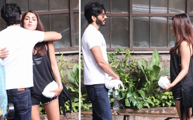 Harshvardhan Kapoor was clicked hanging out with his 'good friend' Rhea Chakraborty in Mumbai. Deepika Padukone and Sonam Kapoor were caught at the Mumbai airport.