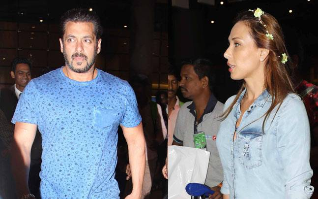 Talk about becoming an integral part of the Khan-daan. Salman Khan and rumoured girlfriend Iulia Vantur returned to Mumbai from Maldives along with the rest of the Khan family. Have a look at the pictures.