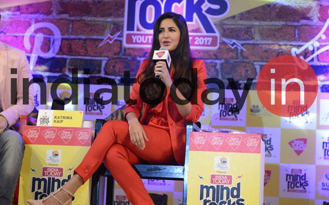 Bollywood superstar Katrina Kaif graced Guwahati by attending India Today Mind Rocks 2017 in the city today.