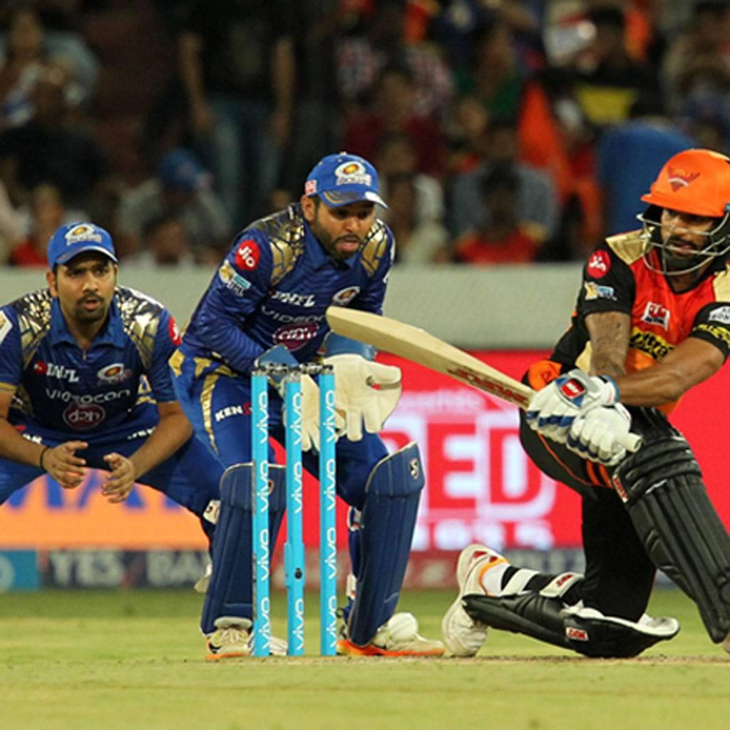 IPL 2017, SRH vs MI, Shikhar Dhawan, MI, SRH, Sunrisers Hyderabad, Mumbai Indians