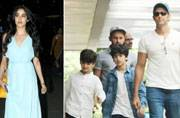 Sridevi's elder daughter Jhanvi Kapoor looked super-stylish at the airport, while Hrithik Roshan spent some quality time with his sons, Hrehaan and Hridhaan.