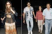 PHOTOS: Deepika Padukone leaves for Cannes, Sidharth Malhotra spends time with parents
