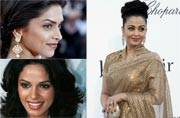 Why do Indian beauties go so wrong with Indian fashion at the Cannes red carpet?