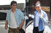 If Shah Rukh Khan was spotted at airport, Kareena Kapoor Khan looked stunning post her yoga session.