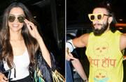 PICS: Ranveer's eccentric style, Deepika returns from Cannes Film Festival