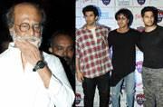 SEE PICS: Rajinikanth in Mumbai to shoot Kaala, Ranbir-Sidharth-Aditya spotted