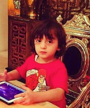 Abram, the youngest son of Shah Rukh Khan, turns four today. Considered the apple of SRK's eyes, the little one is one of Bollywood's most popular star kids.