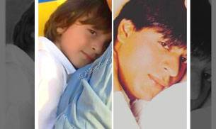 Shah Rukh Khan's four-year-old son AbRam has already become a favourite with the netizens. With his pictures constantly doing the rounds on social media, fans cannot stop gushing about this munchkin. And it was only recently that SRK shared a picture of h