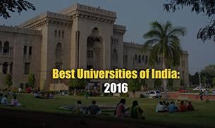 Best Universities In India 2016