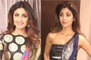 7 pictures to let you know that Shilpa Shetty has a thing for weird sarees