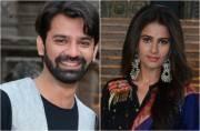 Barun Sobti and Shivani Tomar look picture-perfect at Iss Pyaar Ko Kyaa Naam Doon launch
