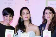 Karan Johar, Mira Rajput launch Pooja Makhija's second book, Eat. Delete. Junior