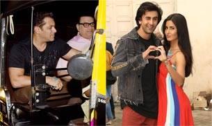 If ex-lovers Ranbir Kapoor and Katrina Kaif were busy promoting their upcoming film Jagga Jasoos, Salman Khan ditched his SUV for an auto rickshaw ride.
