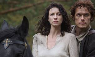 A still from the show Outlander