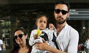 Imran Khan was spotted at the airport with wife Avantika and daughter Imara. BFFs Sara Ali Khan and Rhea Chakraborty attended a star-studded special screening of Mom at Yash Raj Studios.