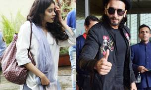 Even before her Bollywood debut, Sridevi's daughter Jhanvi has already become a favourite with paparazzi. On the other hand, livewire Ranveer Singh was seen at airport.