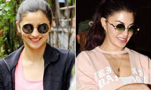 Alia Bhatt was clicked outside the office of her management company, Matrix, while Jacqueline Fernandez looked her stylish best at the Mumbai airport.