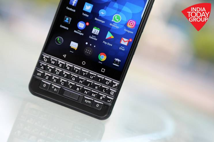 BlackBerry KEYone: Work it out
