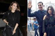 If Akshay Kumar and Bhumi Pednekar are busy promoting their upcoming film Toilet Ek Prem Katha, Sonakshi Sinha was seen at the airport.