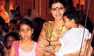 As Kajol turns a year older today, let us re-visit some of the cutest pictures of the actor with her children, Nysa and Yug.