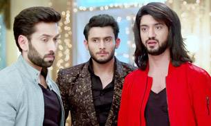 A still from the show Ishqbaaz