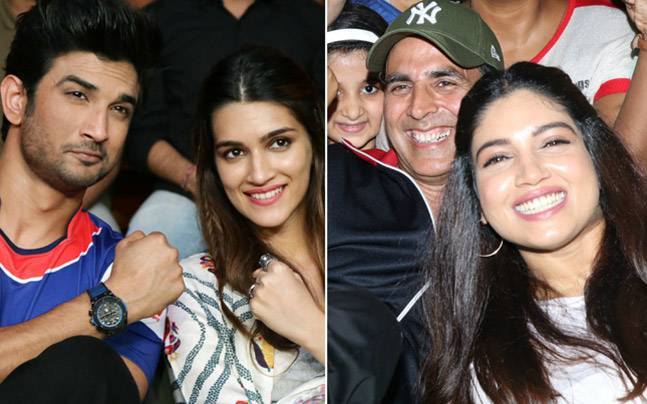 Kriti Sanon, who was in the capital to promote Bareilly Ki Barfi, made sure to catch up with her rumoured boyfriend Sushant Singh Rajput at a boxing match, while Akshay Kumar and Bhumi Pednekar promoted Toilet Ek Prem Katha.